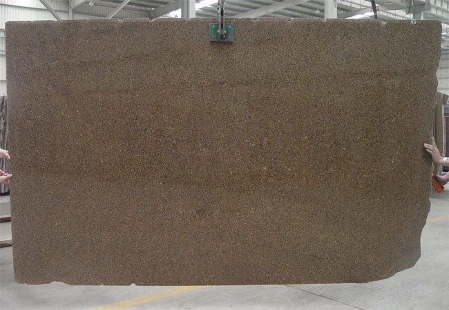 Antical Brown Granite Slab-India