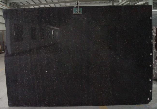 Black Galaxy Granite Slab-India