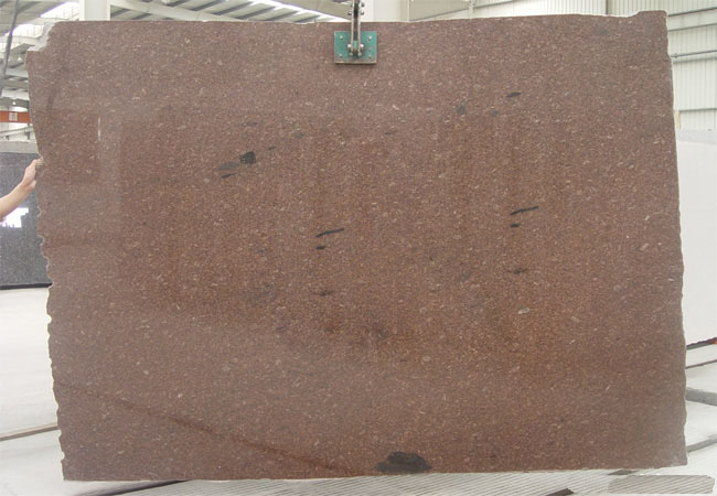 Darwin Brown Granite Slab-Canada