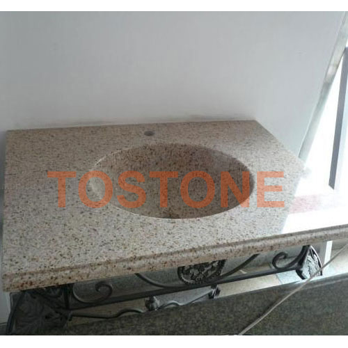 G682 Granite Bathroom Vanity top