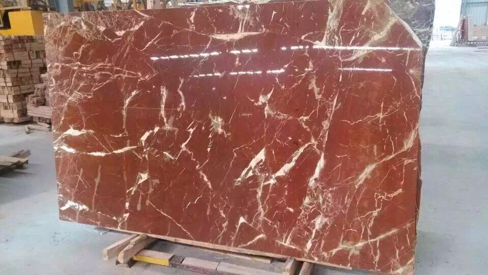 Red Marble Color Slabs