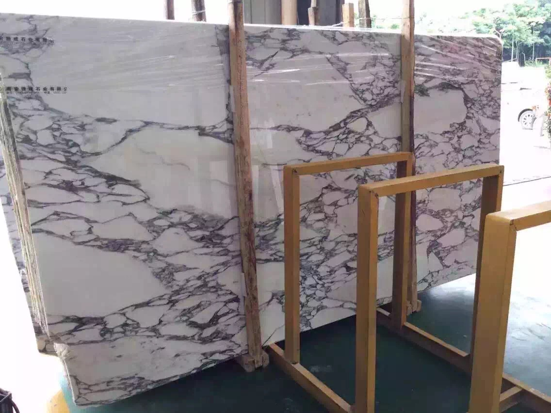 Arabescato Marble Slabs from Italy