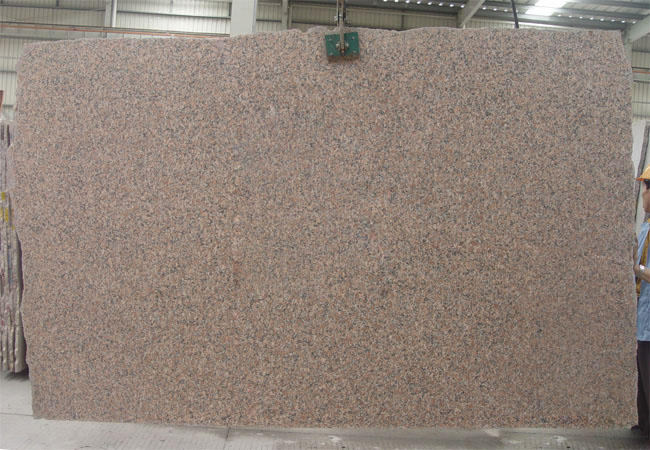 Maple Red(flamed) Granite Slab-China