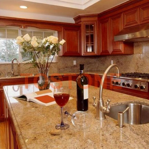 Yellow Granite Kitchen countertops
