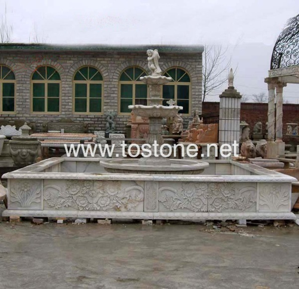 China Marble fountain-NS-001
