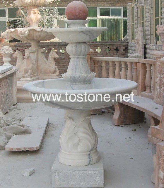 Garden Marble Fountain-NS-006
