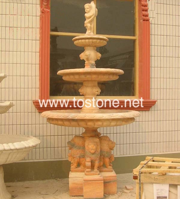 Garden Marble Carving Fountain-NS-007