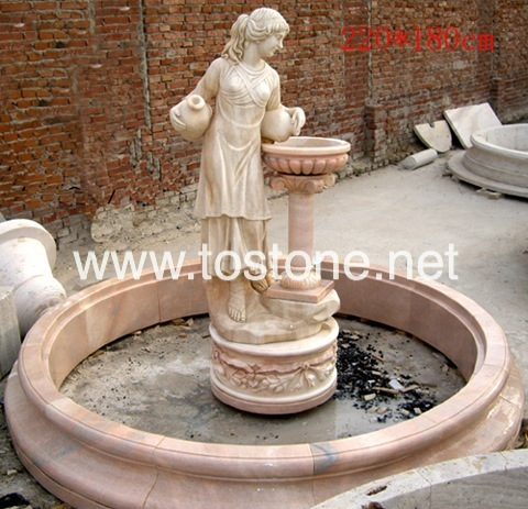 Marble Garden Fountain-NS-012