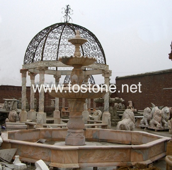 Large Marble Carving Fountain-NS-015