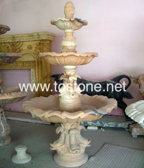 China Marble Carving Fountain-NS-016