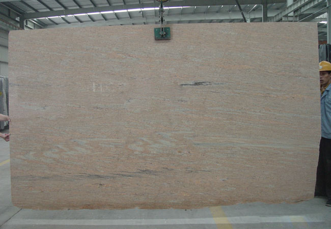 Raw Silk Granite Slab-India