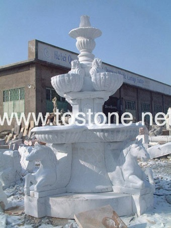 SQ-E026-Marble Fountain Supplier