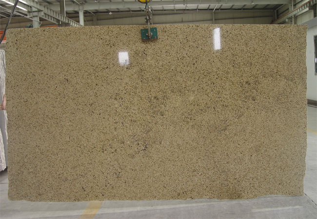 Saigon Yellow Granite Slab-Viet Nam
