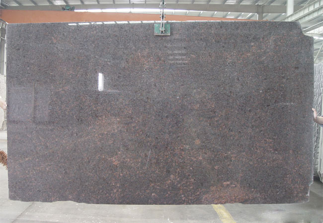 Tan Brown Granite Slab-India