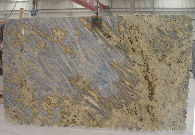 Tiger Skin Yellow Granite Slab-Brazil