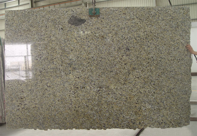 Yellow Butterfly Granite Slab-China